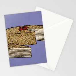 N is for Napoleon Cake Stationery Cards