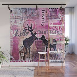 Hello Beautiful Wall Mural