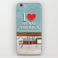 john snow iPhone & iPod Skins featuring First Snow by John Wisker