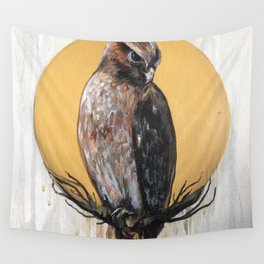 Hawk Vision Wall Tapestry