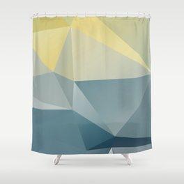 Adriatic / poster, art print, scandinavian, pictures, postcards, cards, deco, paper, art prints Shower Curtain