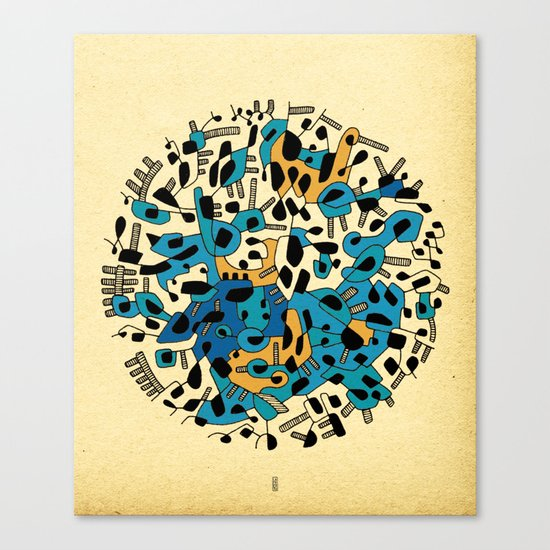 - age of the sun_03 - Canvas Print