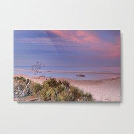 """Tarifa"". Atlantic Ocean beach Metal Print"