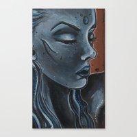 """indigo Canvas Prints featuring Indigo by Barbora """"Mad Alice"""" Urbankova"""