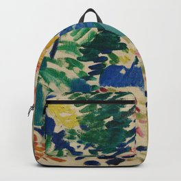 Landscape at Collioure - Henri Matisse - Exhibition Poster Backpack
