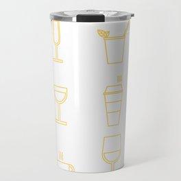 Drinks (alternate version) Travel Mug
