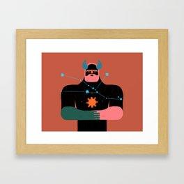 Tauro Framed Art Print