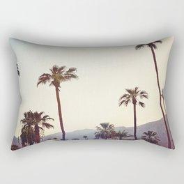 Palm Trees in the Desert Rectangular Pillow