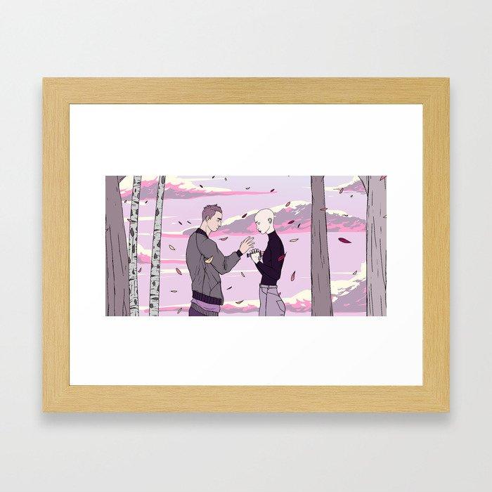 let me die Framed Art Print