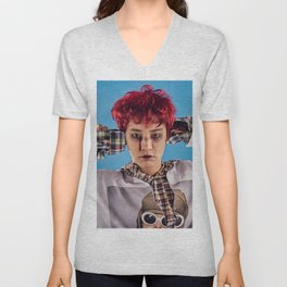 Busted Chanyeol Unisex V-Neck