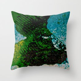 Gravity's Topography Throw Pillow
