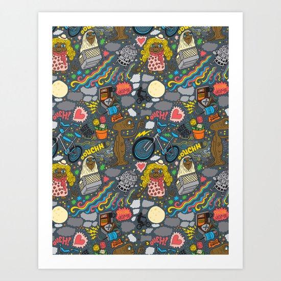 ET! Art Print