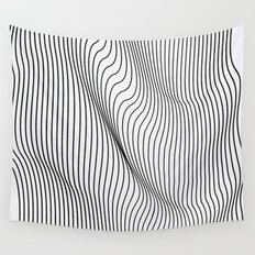 Minimal Curves Wall Tapestry