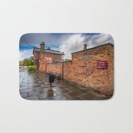 Hadlow Victorian Railway Station Bath Mat