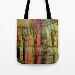 Lucite Cathedral Tote Bag