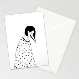 too many lies Stationery Cards