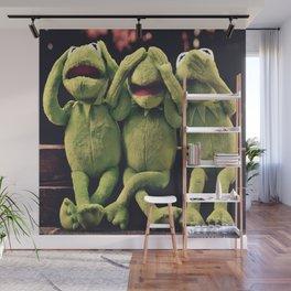 Kermit - Green Frog Wall Mural