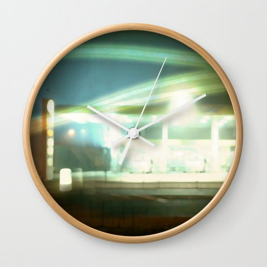 night shift Wall Clock