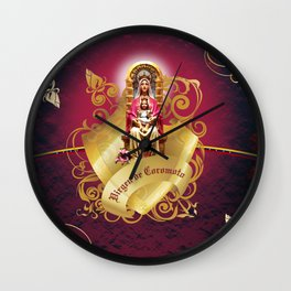 Coromoto Virgin Wall Clock