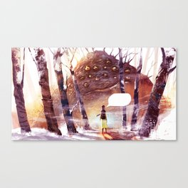 Speachless Canvas Print