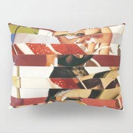 Glitch Pin-Up Redux: Emma Pillow Sham