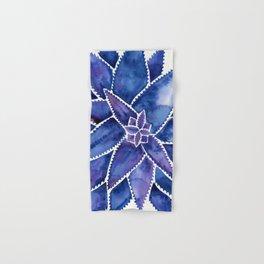 Aloe Vera – Navy Palette Hand & Bath Towel