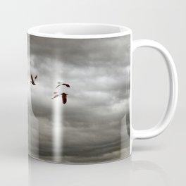 October Storm, Headed Home (Snow Geese) Coffee Mug