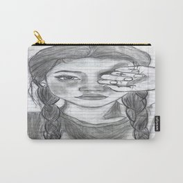 Tumblr girl Carry-All Pouch