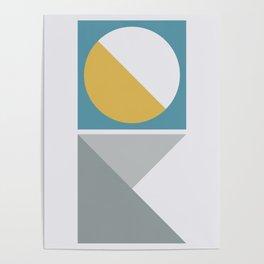 Geometric Form No.2 Poster