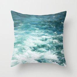 Ferrys Wake Throw Pillow