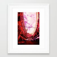 community Framed Art Prints featuring Community by Litew8