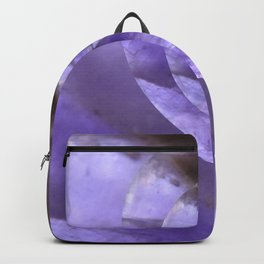 Light Blue Mystical Powers of Amethyst #society6 Backpack