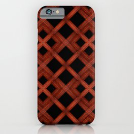 Refined Wood Abstract Background iPhone Case