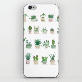Tiny garden iPhone Skin