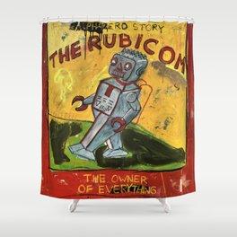 The Rubicom Shower Curtain