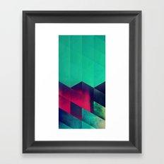 1styp Framed Art Print