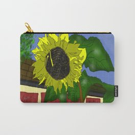 Thee Sunflower by Mgyver Carry-All Pouch