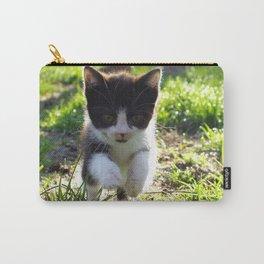A Tuxedo Kitten Named Seven Carry-All Pouch