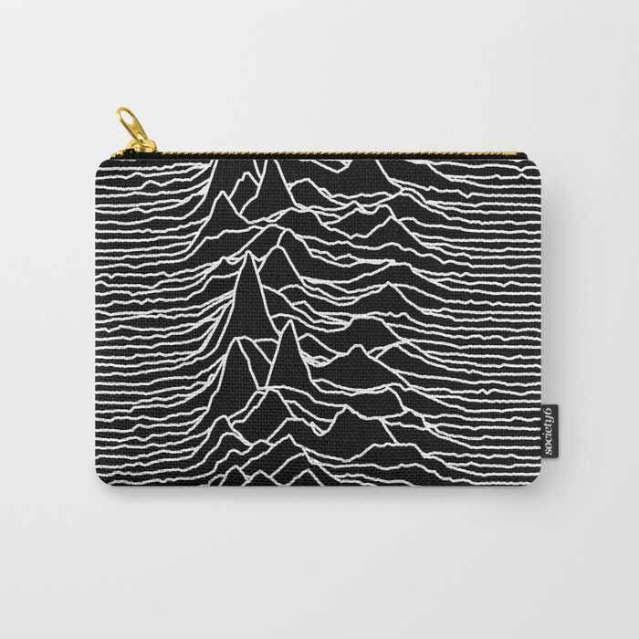 Joy Division - Unknown Pleasures Carry-All Pouch