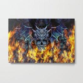 Hellwings II. Metal Print