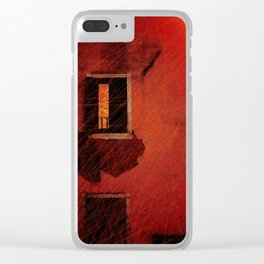 Boy In The Attic Clear iPhone Case