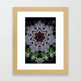 Tendrils and Stars Framed Art Print