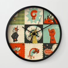All the SIGNS of a REVOLUTION Wall Clock