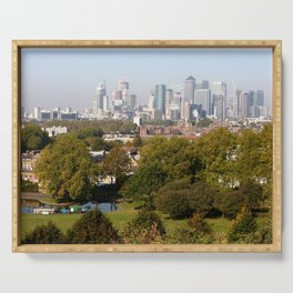 City of London from Greenwich Hill Serving Tray