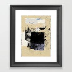 misprint 83 Framed Art Print