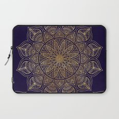 Gold Mandala Laptop Sleeve