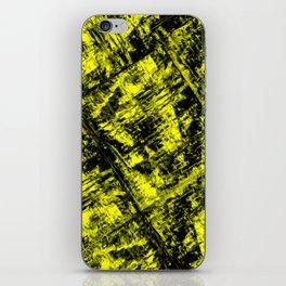 Amazing Yellow - fluid cubism iPhone Skin
