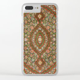 Indian Pattern No. 5 Clear iPhone Case