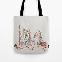 legolas Tote Bags featuring [ The Hobbit ] King Thranduil Legolas Greenleaf by Vyles