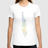 manhattan T-shirts featuring Manhattan  by theov6